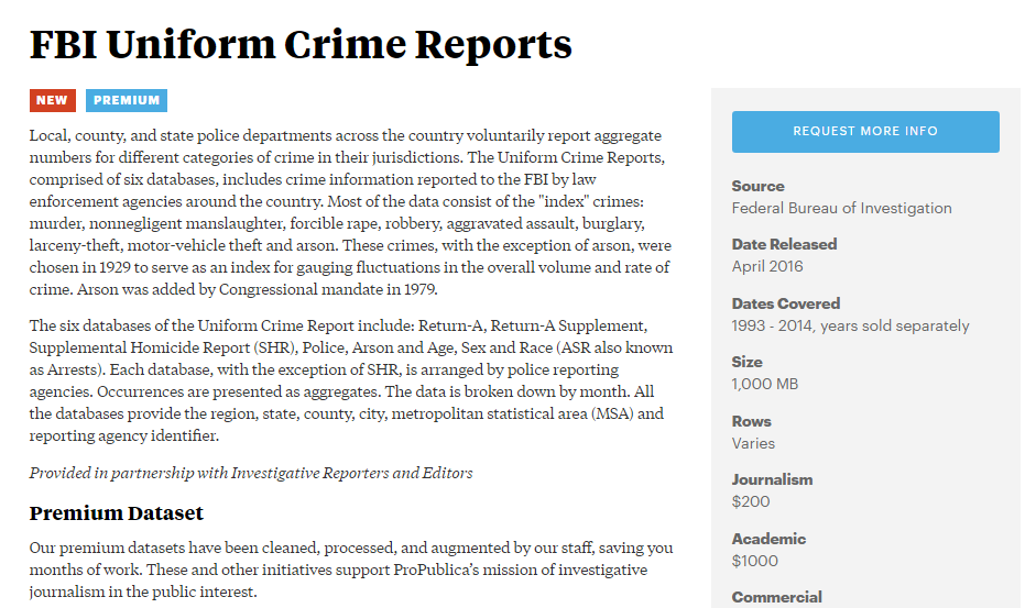 fbi-uniform-crime-reports-propublica-data-store